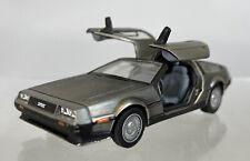 Vitessee Back to the Future 1981 DeLorean DMC-12 LK Diecast 1:43 Stainless Steel