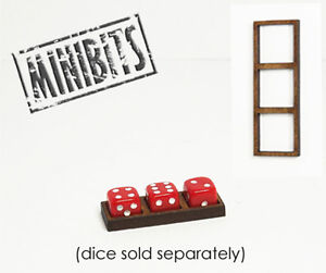 Wargames Hit Marker MDF Dice Frames - Triple Frames - Various Sizes