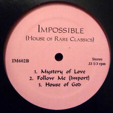 "Various ‎– House Of Rare Classics  EP 12 "" Maxi Fingers Inc. Blaze Aly-Us"