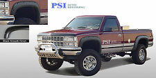 BLACK PAINTABLE POCKET Bolt Fender Flares 1988 -1998 GMC Chevrolet C1500 K1500