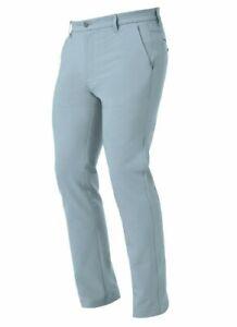 NEW 2021 FootJoy PRO TOUR FIT Performance Flat Front Pants, BLUE FOG, 34 x 32
