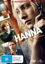 Hanna - DVD - Eric Bana Cate Blanchett 2011 THRILLER ART HOUSE ACTION MOVIE - R4