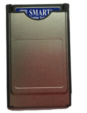 Genuine Smart Compact Flash Memory Card C.F 128mb + Pc Card PCMCIA Adapter