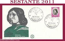 ITALIA FDC FILAGRANO 1976 GHIRLANDAIO RITRATTO ANNULLO NAPOLI  G721