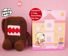 TALKING TOY CUTE DOMO KUN PLUSH BEAR DOLL SOFT KID SOUND MUSIC GAME TOY