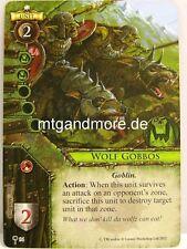 Warhammer invasión - 1x Wolf Gobbos #094 - The ruinous hordes