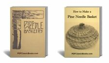 How to Make Pine Needle Basket Making Basketry Books CD