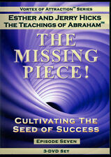 Abraham-Hicks Esther 3 DVD THE MISSING PIECE Vortex of Attraction #7 - NEW