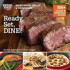 "Range Mate Pro Microwave Grill ""Ready, Set Dine"" Cookbook - As seen on"