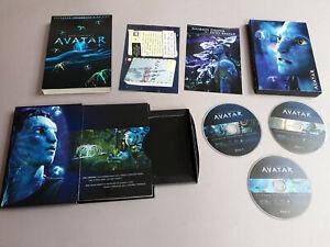"""Avatar"" DVD, extended collectors edition 3x DVD, J. Cameron, 20th Century Fox"