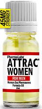 The Secret To ATTRACT Beautiful WOMEN ! SEX PHEROMONES Oil Formula 10ML #045