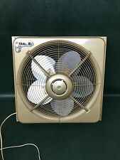"Vintage Frigid Window Fan 18"" 6 speed reversible WF203R Thermodial Brooklyn NY"