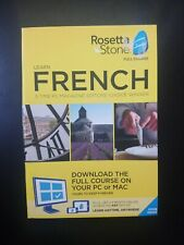 Rosetta Stone - French Full Course Online Subscription with Download NEW Free S