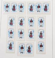DDR 1959 bis 1990 ** Sammlung der Zusammendrucke mit teuren Serien etc.