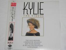 LD  Laserdisc :L537 Kylie Minogue The Videos & Interview