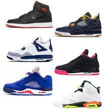 Nike Air Jordan 1 4 5 6 Retro Flight Flex New School BG GG GS Schuhe Sneaker Neu