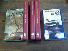 Lot 5 livres collection 1000 soleils Gallimard Vol de nuit Chroniques martiennes