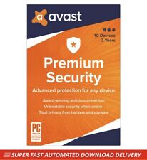 Avast Premium Security 2020 - 10 Devices - 2 Years [Download]