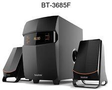 Boytone BT-3685F Wireless Bluetooth 2.1 Speaker System FM radio Remote NEW
