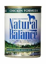 Natural Balance Ultra Premium Wet Dog Food Chicken 13-Ounce Free Shipping