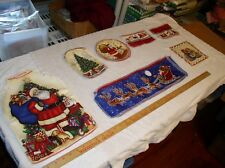 21 Cutout Christmas Panels for Applique; 7 Different Types by Fabric Traditions;