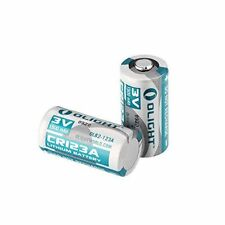 Olight Battery CR123A Lithium Batteries 1500mAh 3V