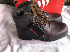 """New listing Wolverine Marquette 6"""" Steel Toe Boots. Men's size 12Eee Wide"""