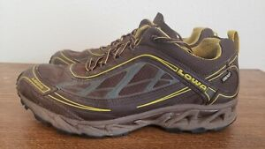 Lowa Goretex S CROWN GTX Low BROWN Hiking Shoes Mens SZ 9.5 NICE!