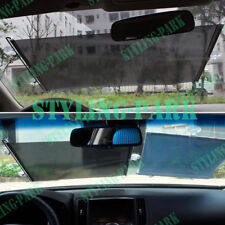 58X125 cm Black Car Sedan Folding Fold Window Windshield Sun Shade Visor Valance