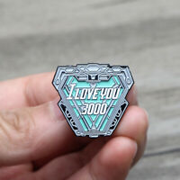I Love you 3000 Metal Enamel Pins and Brooches for Men Lapel Pin Backpack Badge