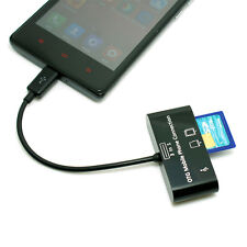 Micro USB Smart Android Phone OTG SD TF Card Reader Adapter for Samsung Huawei