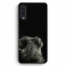 Katze Himmel Samsung Galaxy A50 Silikon Hülle Motiv Design Schön Süß Tiere Kä...