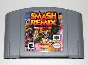 Smash Remix 9.7 Game For Nintendo 64 N64 NTSC-U/C US Ver. Super Smash Bros Mario