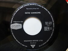 gene SIMMONS Haunted house / hey hey little girl HLU 9913 FRANCE JUKE BOX