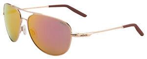 Revo Windspeed Sunglasses RE 3087 04 SP Gold | Spectra Mirror Lens