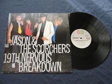 "JASON AND THE SCORCHERS.19TH NERVOUS BREAKDOWN.12"" SINGLE.UK.VG+/VG+."