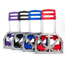 UBesGoo Portable Aluminum Folding Hand Truck Dolly Heavy-Duty Luggage Trolley