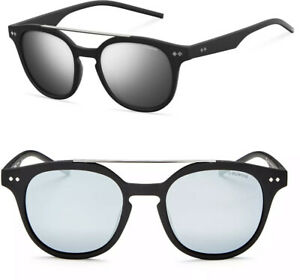 Polaroid Sunglasses PLD1023S Round Mirrored Aviator - Polarized - NEW