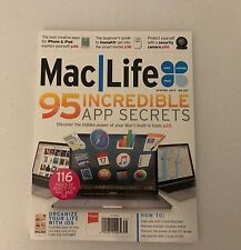 MAC LIFE Spring 2017 95 Incredible App Secrets 116 Pages BRAND NEW IN COLTR. SLV