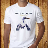 New Faith No More *Angel Dust Duke Logo Rock Band Men's White T-Shirt Size S-3XL