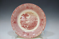 Jenny Lind 1795 Royal Staffordshire Pottery England Soup Plate (Red)