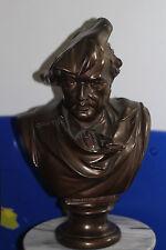 Wilhelm Richard Wagner Bust Music Sculpture Statue Bronze color