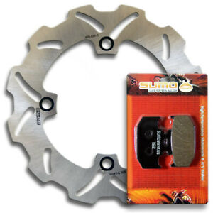 Rear High Performance Brake Disc Rotor + Pads for Suzuki DR650 SE/S [1996-2020]