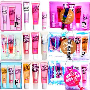 Victoria's Secret PINK LIP GLOSS KIT + BONUS! GLITTER GLOSS GOALS U-PIC