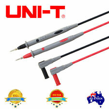UNI-T Multimeter test extention lead male thread probe UT-L27 10A 1000V AU