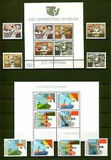 [Portugal 1974/78 – Four different Souvenir Sheets and sets] all perfect MNH