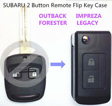 SUBARU 2 Buttons Remote Flip Key Shell Case for OUTBACK IMPREZA FORESTER LEGACY