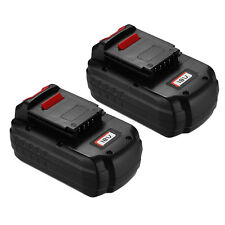 2 Packs 3000Ah NiCd Battery for Porter Cable PC18B 18-Volt Cordless Battery Pack