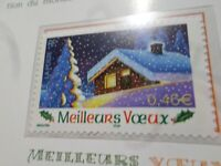 FRANCE 2002 timbre 3533, MEILLEURS VOEUX, neuf**, MNH