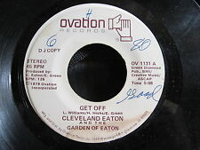 SOUL JAZZ FUNK DJ 45 CLEVELAND EATON & GARDEN OF EATON Get Off/Im Lonely Tonight